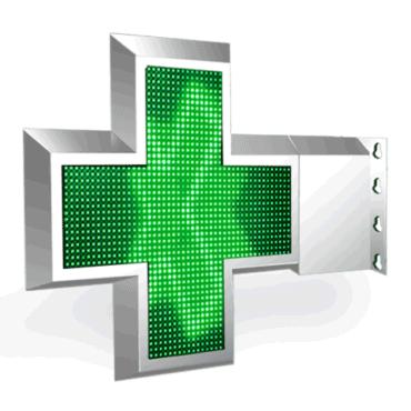 croix-LED-pharmacie-ZED-1000