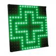 Croix LED vitrine pharmacie