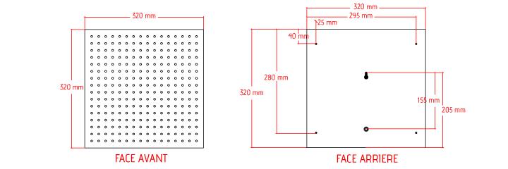 Croix LED pharmacie plan