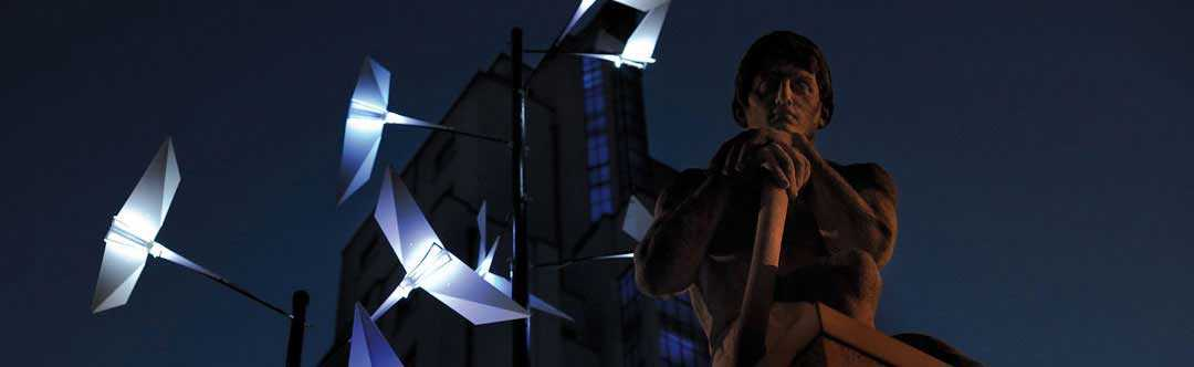Réalisation signalétique LED - Pitaya (69)