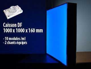 caisson-double-face-led