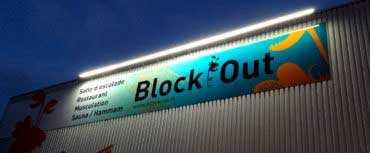 Rampe lumineuse enseigne - Réalisation Block Out Rennes