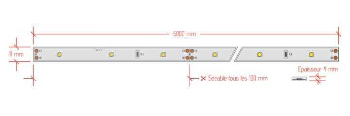 Ruban LED 030 standard - lan